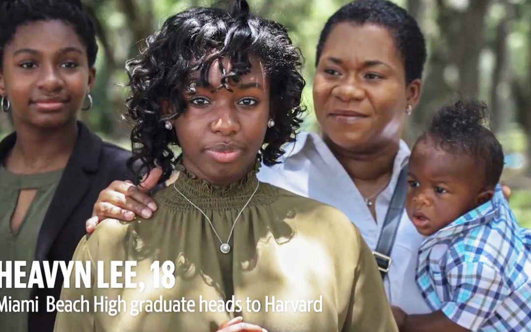 Heavyn Lee Goes To Harvard